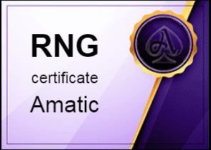 Certificate Amatic
