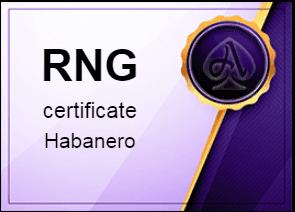 certificate Habanero