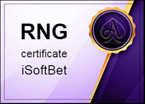 certificate iSoftBet