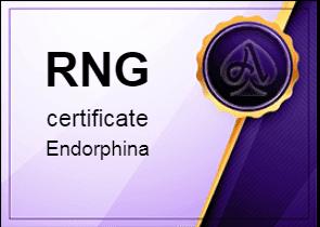 certificate Endorphina